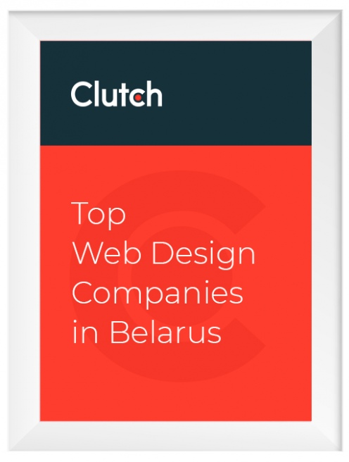 Top-4 Web Design Companies in Belarus, Clutch, 2019